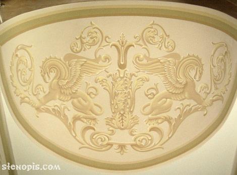 Роспись стен орнаментом, СПб